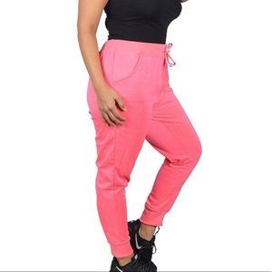 5ce0d02f1880f Pants - ✅HP ➕🆕 (2X) Plus Size Hot Pink Love Joggers